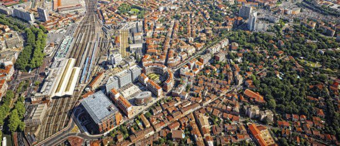 L'agglomération de Toulouse dépasse le million d'habitants et se place dans le top 5 français